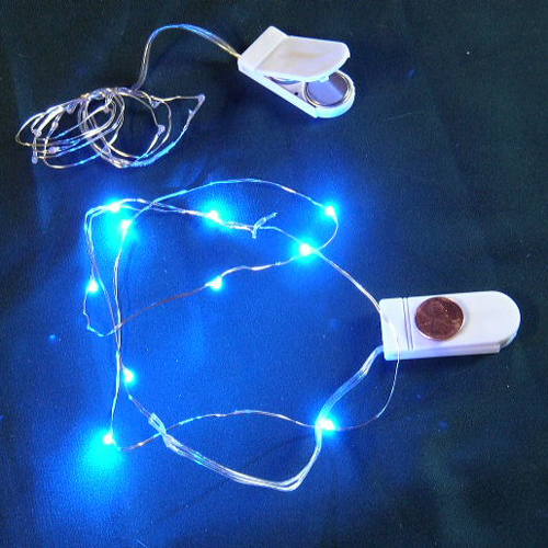 cr2032 battery operated micro led vine light blue micro led vine lights floralyte products. Black Bedroom Furniture Sets. Home Design Ideas