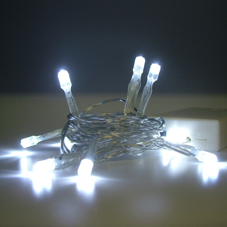 AA battery regular led string lights-5MM Concave Led string lights-Floralyte-Products-kitosun.com